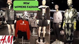 H&M NEW AUTUMN WINTER WOMEN FASHION OCTOBER 2019