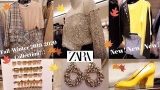 Zara Fall-Winter 2019-2020 Women's Fashion Collection [September-October 2019]. New!New!!
