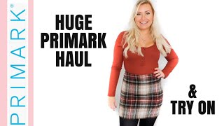 NEW!! HUGE PRIMARK TRY ON HAUL! | OCTOBER 2019 AUTUMN / WINTER FASHION | NEW IN FASHION