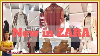 New in #Zara Fall Winter Collection #October 2019 | Womans Fashion