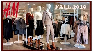 NEW H&M FALL WORK OUTFITS and CASUAL WEAR October 2019
