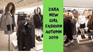 ZARA NEWEST GIRL AUTUMN FASHION OCTOBER 2019
