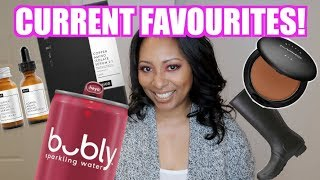 Current Favourites | Skincare, Makeup, Food, Fashion | October 2019