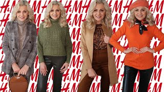 NEW IN H&M AUTUMN HAUL/ TRY ON/OCTOBER 2019/fabolous50s/FASHION FOR MATURE WOMEN