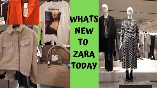 ZARA WOMENS FASHION AUTUMN COLLECTIONS OCTOBER 2019 * BAGS * SHOES * ACCESSORIES