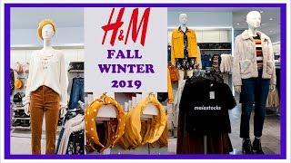 H&M NEW October 2019 AUTUMN FASHION COLOR TREND  I Come with Me