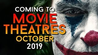 New Movie Releases October 2019 - (Trailers & Info)