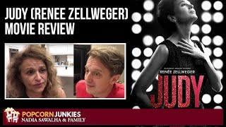 JUDY (Renee Zellweger) Nadia Sawalha & The Popcorn Junkies FAMILY Movie REVIEW