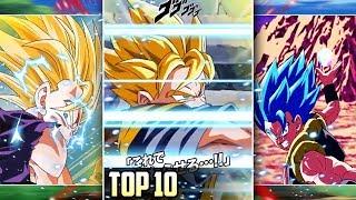 TOP 10 TRANSFORMING UNITS SUPER ATTACK ANIMATIONS! October 2019 DBZ Dokkan Battle