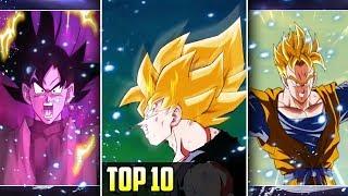 TOP 10 BEST TRANSFORMATIONS! October 2019 DBZ Dokkan Battle
