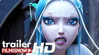 WHITE SNAKE Subtitled Trailer (2019) Light Chaser Animation Film