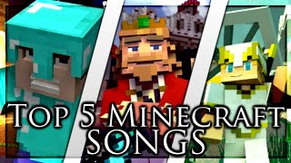 🎵Top 5 Minecraft Songs 2019🎵 - Animations/Parodies Minecraft Songs October 2019 | Minecraft Songs