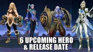 MOBILE LEGENDS NEW HERO AND RELEASE DATE • MOBILE LEGENDS 6 UPCOMING HERO