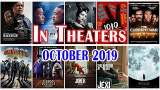 BEST UPCOMING MOVIES IN THE U.S BOX OFFICE (OCTOBER 2019)