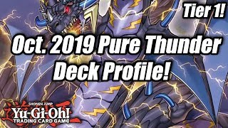 Yu-Gi-Oh! October 2019 Pure Thunder Dragon Deck Profile! (Tier 1!)