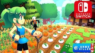 TOP 12 Awsome Upcoming NINTENDO SWITCH Farming & Craft RPG Games 2019 & 2020 ( Harvest Moon Style )