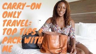 Carry-On Only Travel: Top Tips + Pack With Me for One week in Belize (Minimalist packing)
