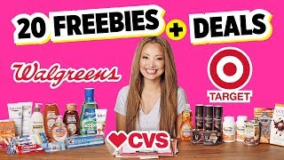 ★ FREE Food! 20 Freebies & Couponing Deals this Week! (Target, CVS, Walgreens)