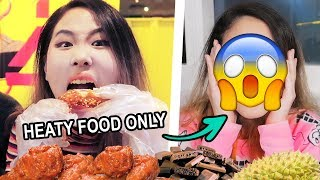 I eat ONLY 🔥HEATY FOOD🔥 for ONE WEEK and this is what happened 😱 | MiniMoochi