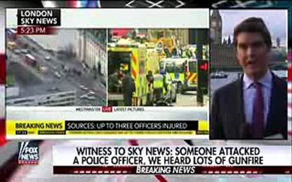 {Isis attack}Suspect used vehicle as weapon in London attack(isis attack)
