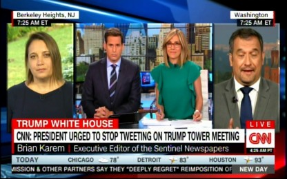 Panel on President Donald Trump urged to stop tweeting on Donald Trump tower meeting. #Russia #DonaldTrump #TrumpTweet #News #TrumpTowerMeeting #BreakingNews
