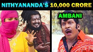 NITHYANANDA 10000 CRORE PROPERTY TROLL - TODAY TRENDING