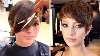 Trendy Hairstyles 2019 | 12 Perfect Short & Pixie Cut Ideas Trending 2019 | New Women Haircut GRWM