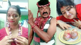 Onion Comedy Part 2 Tamil Dubsmash Comedy Videos   Latest Trending TikTok Part 2