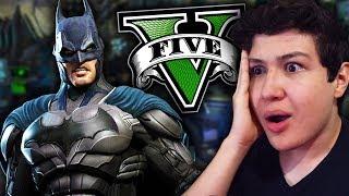 Soy BATMAN en GTA 5!! Grand Theft Auto V - GTA V Mods