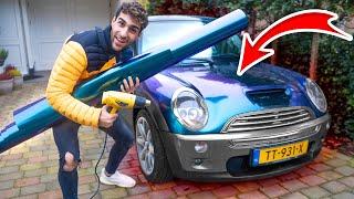 MIJN VRIENDIN HAAR AUTO VOLLEDIG CUSTOMIZEN! (EXTREEM PROJECT!)