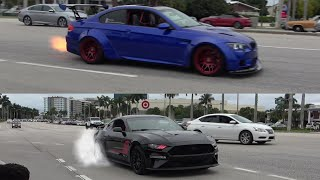 CRAZY EXITS From Cars and Coffee Palm Beach November 2019!! [Part 2]