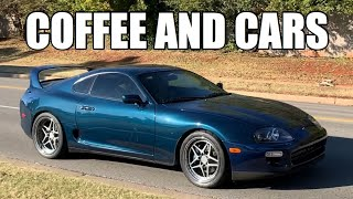 Cars Leaving OKC Coffee and Cars - November 2019