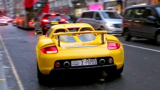 SUPERCARS in LONDON November 2019 - Highlights