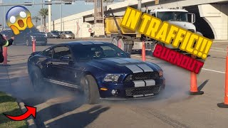Houston Cars And Coffee | November 2nd, 2019 ( BEST OF MUSCLE CAR BURNOUTS AND POWERSLIDES 2019!!! )