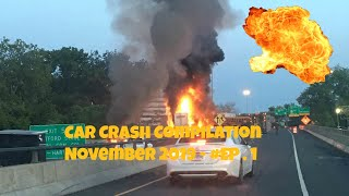 Car Crash Compilation November 2019 - Episode 1
