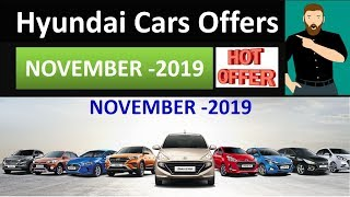 Special Offers on Hyundai Cars in November 2019 | Superb Car Deals for you | Grab it now
