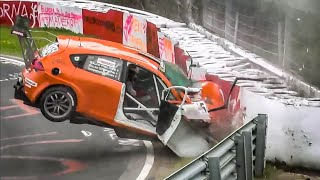 NÜRBURGRING CRASH COMPILATION 2019 - Nordschleife CRASHES & FAILS 2019 VLN & RCN