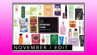 Latest In Beauty November 2019 | Pamper Time | Full Product Line Up