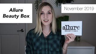 Allure Beauty Box | November 2019