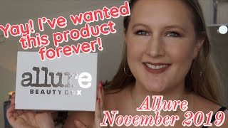 Great Month!! Allure Beauty Box | November 2019