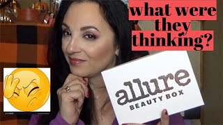 Those ingredients though!-Allure beauty box/November 2019