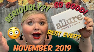 Allure Beauty Box | November 2019 | Are You Kidding Me?!?