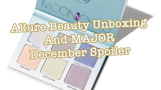 December 2019 Allure Beauty Box Spoiler and November 2019 Unboxing