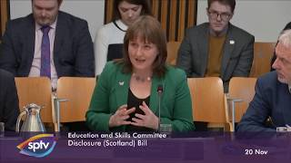 Education and Skills Committee - 20 November 2019
