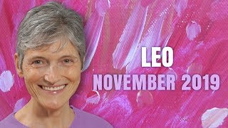 LEO November 2019 Astrology Horoscope Forecast - Good Fortune for you!
