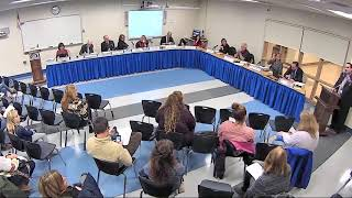 Board of Education meeting, November 20, 2019