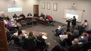 November 20, 2019 Board of Education Meeting