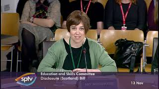 Education and Skills Committee - 13 November 2019