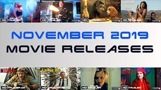 Movies Coming Out In November 2019 | Trailer Vault