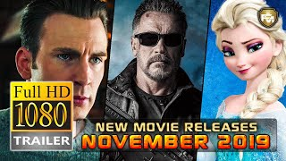 Top 10 New Movies Coming Out in NOVEMBER 2019 | Future Movies